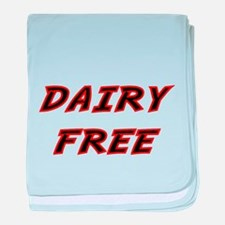 DAIRY FREE-2 baby blanket