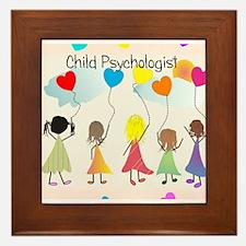 Child psychologist 1 Framed Tile