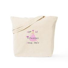 Bald Princess Tote Bag