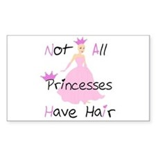 Bald Princess Decal