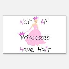 Bald Princess Decal