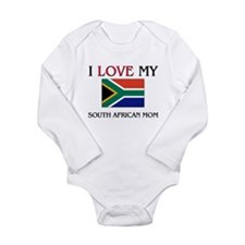 I Love My South African Mom Body Suit