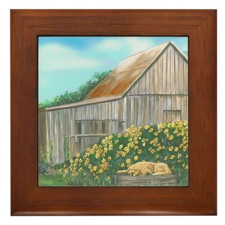 Barn Framed Tile