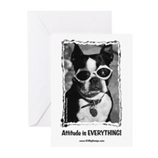 Attitude is Everything Greeting Cards (Package of