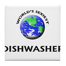 World's Sexiest Dishwasher Tile Coaster