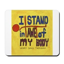 Yoga Inspiration Mousepad