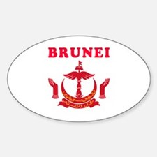 Brunei Coat Of Arms Designs Decal