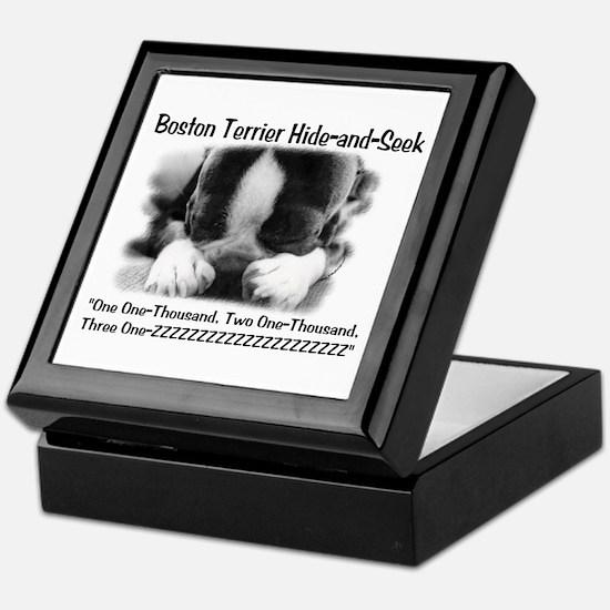 Boston Hide and Seek Keepsake Box