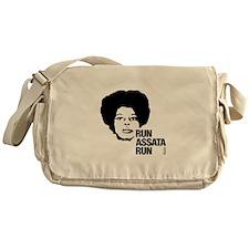 Run Assata Run Messenger Bag