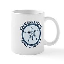 Cape Canaveral - Seashells Design. Mug