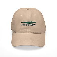 Baseball Cape Canaveral - Alligator Design. Baseball Cap