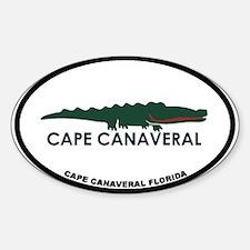 Cape Canaveral - Alligator Design. Decal