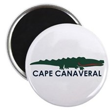 Cape Canaveral - Alligator Design. Magnet