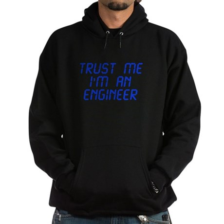 trust-me-Im-an-engineer-LCD-BLUE Hoodie