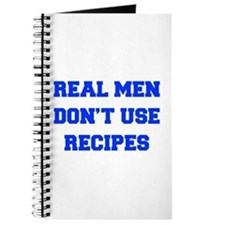 real-men-dont-use-recipes fresh blue Journal