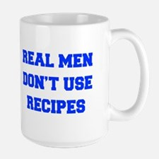 real-men-dont-use-recipes fresh blue Mug