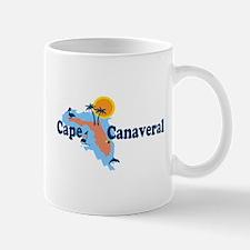 Cape Canaveral - Map Design. Mug