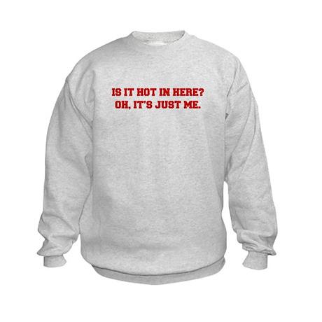 is-it-hot-in-here-FRESH-BROWN Sweatshirt