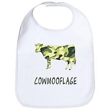 Cowmooflage Bib