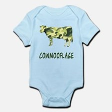 Cowmooflage Infant Bodysuit