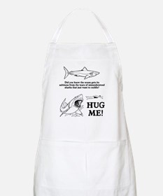 Sharks need hugs Apron