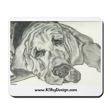 Bloodhound Sketch Mousepad