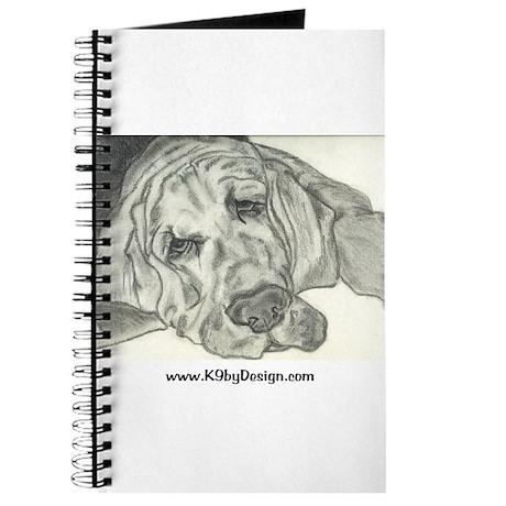 Bloodhound Sketch Journal