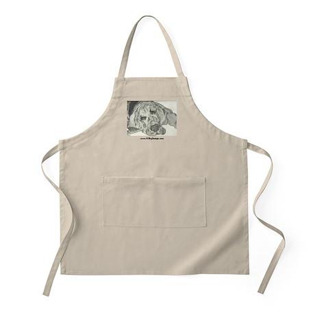 Bloodhound Sketch BBQ Apron