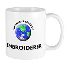 World's Sexiest Embroiderer Mug