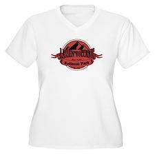 lassen volcanic 5 Plus Size T-Shirt
