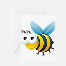 Happy Bee Greeting Card