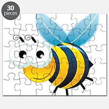 Happy Bee Puzzle