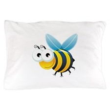 Happy Bee Pillow Case
