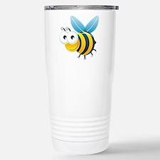 Happy Bee Travel Mug