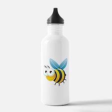 Happy Bee Water Bottle
