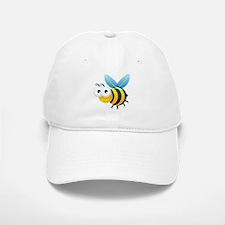 Happy Bee Baseball Baseball Baseball Cap