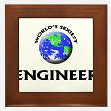 World's Sexiest Engineer Framed Tile