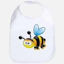 Cartoon Bee Bib
