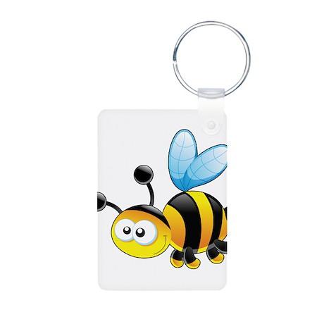 Cartoon Bee Keychains