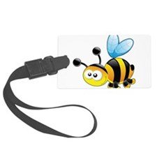 Cartoon Bee Luggage Tag