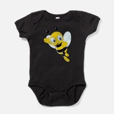 Jumping Bee Baby Bodysuit