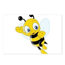 Jumping Bee Postcards (Package of 8)