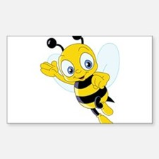 Jumping Bee Decal
