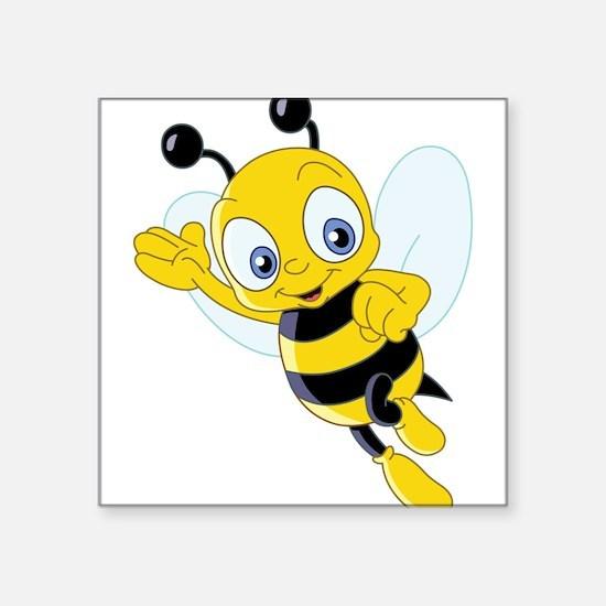 Jumping Bee Sticker