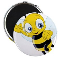 """Jumping Bee 2.25"""" Magnet (10 pack)"""