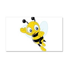 Jumping Bee Car Magnet 20 x 12