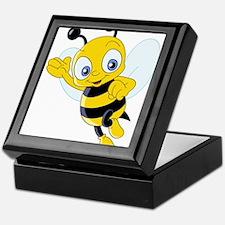 Jumping Bee Keepsake Box