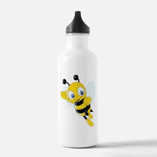 Jumping Bee Water Bottle