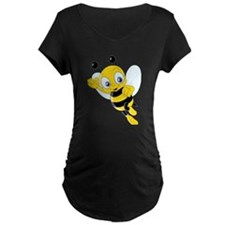 Jumping Bee Maternity T-Shirt
