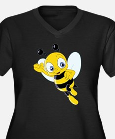 Jumping Bee Plus Size T-Shirt